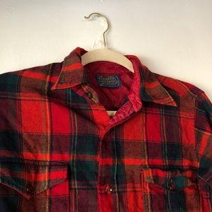 Pendelton wool flannel vintage